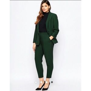 647864d873a ASOS Curve Jackets   Coats - ASOS CURVE Blazer In Crepe With Slim Lapel  Size 24